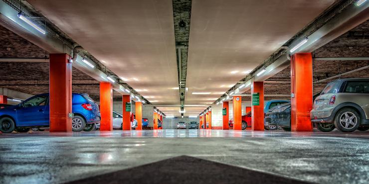 miejsc parkingowych zabezpoeczenie pojazdow